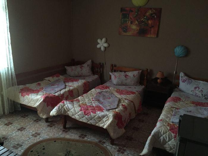 Camera trei paturi